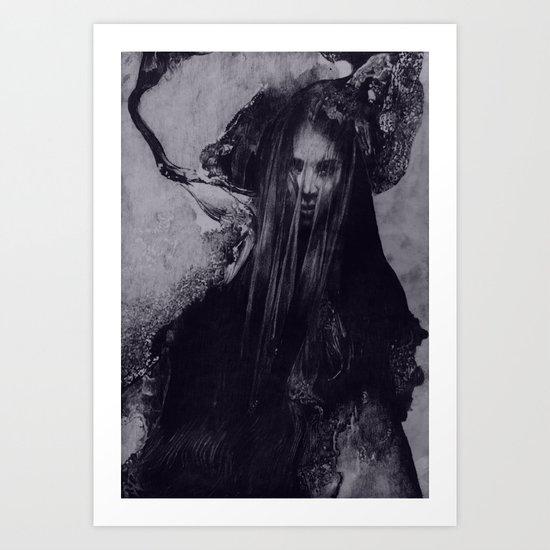 FLOWS 002 Art Print