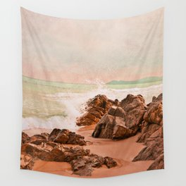 evening waves Wall Tapestry