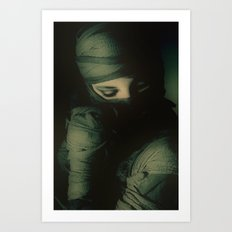 Hidden self Art Print