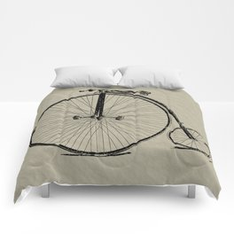 19th Century Bicycle Comforters
