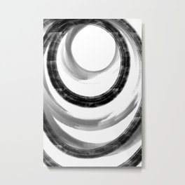 Abstract Painting No. 24 - Influence Metal Print