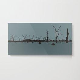 Floodscape Metal Print