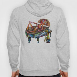 Every morning Jack plays the piano! Hoody