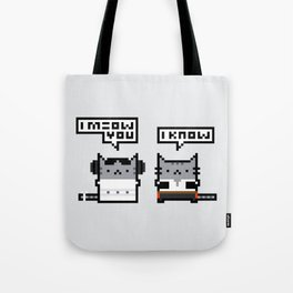 I Meow You - Cat Wars Tote Bag