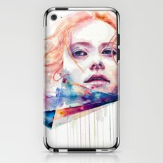 conspiracy of silence iPhone & iPod Skin