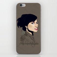 Gasoline Bride iPhone & iPod Skin