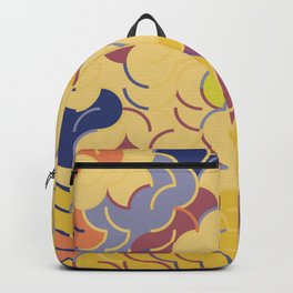 Abstract Geometric Artwork 84 Backpack