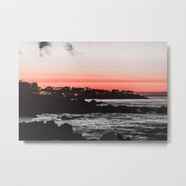 The red ink seems to be leaking again. Metal Print