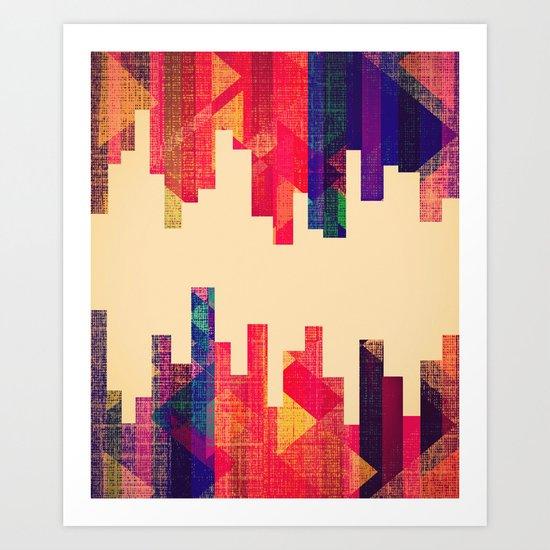 Night Visions: Textiles Art Print