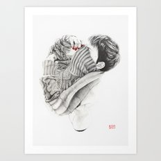 Pullover Attack Art Print