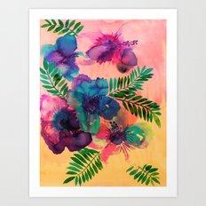 Skye Floral Art Print