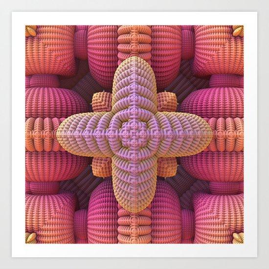 Extreme Crocheting? Art Print