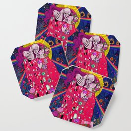 The Kiss Macabre Coaster