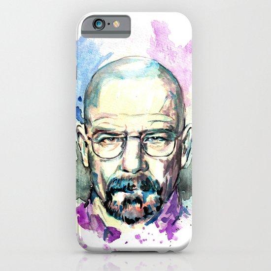 Breaking Bad Walter White Original Watercolor iPhone & iPod Case