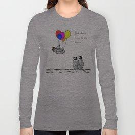To be a Flying Penguin Langarmshirt