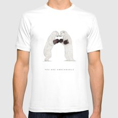 You Are Unbearable Mens Fitted Tee MEDIUM White