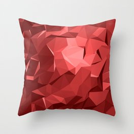 Polygon 11 Throw Pillow