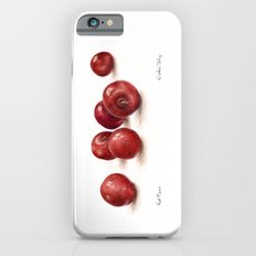 Red Plums iPhone 6s Slim Case