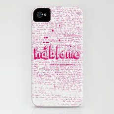 I Miss You. Talk to Me. iPhone (4, 4s) Slim Case
