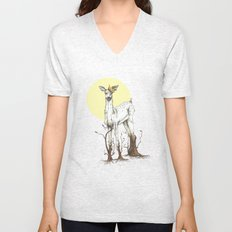 Doe Tree Unisex V-Neck