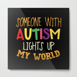 Autism Autist Metal Print