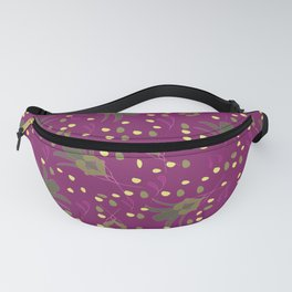 Art Deco Flower Fanny Pack