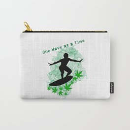 One Wave at a Time Carry-All Pouch
