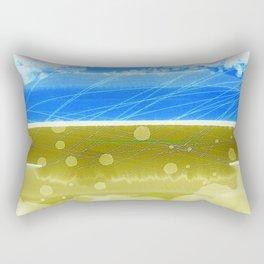 The Heron-Priested Shore Rectangular Pillow