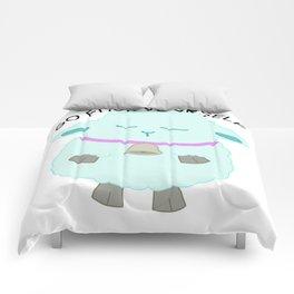 Go Fuck Yourself says the sheep Comforters