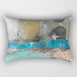 Pondering Flight Rectangular Pillow