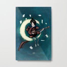 kubo and the two strings Metal Print