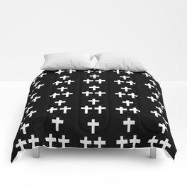 Christian Cross 1 Comforters