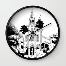 Nagasaki - Oura Church Wall Clock