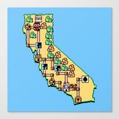 Super California Canvas Print