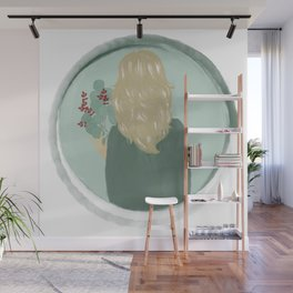 Floral Forest Nymph Wall Mural