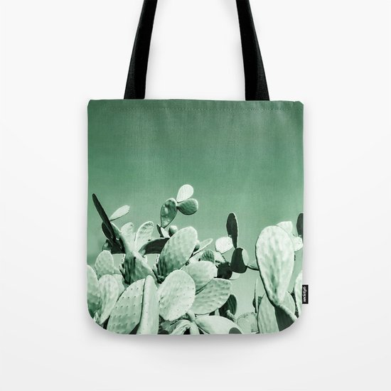 Cactus prickly pear Tote Bag