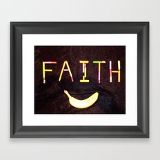FAITH-B-SMILE Framed Art Print
