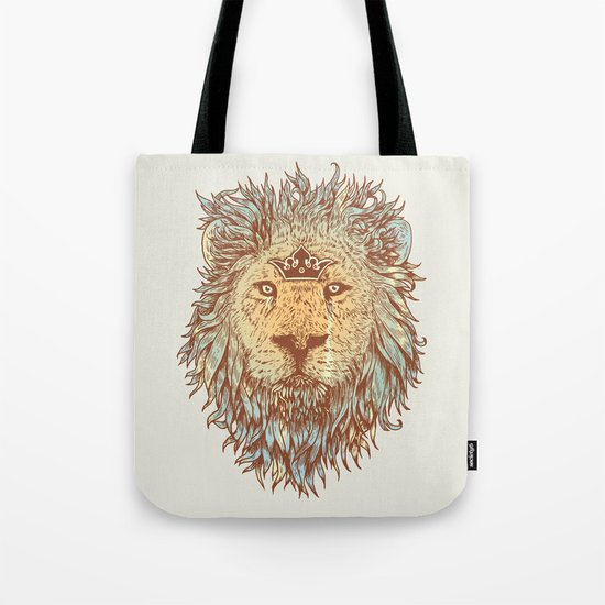 The Blue-Blooded and the Brave Tote Bag