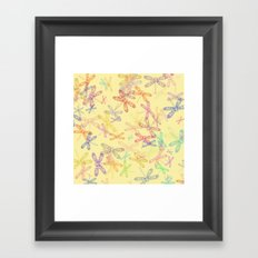 Dragonfly Dragonfly oh, Dragonflies Everywhere! Framed Art Print