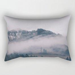 Swiss Fog IV Rectangular Pillow