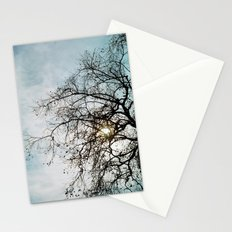 Blue Sky and Tree Stationery Cards