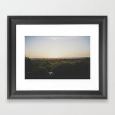 Sunset, Australia Framed Art Print