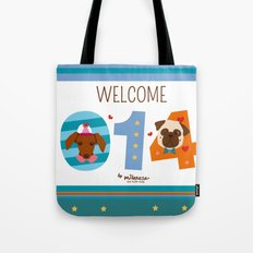 Welcome 014 Tote Bag