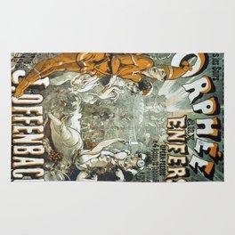 Vintage poster - Orphee aux Enfers Rug