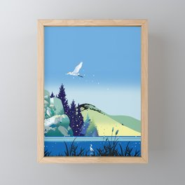 Season of departure Framed Mini Art Print