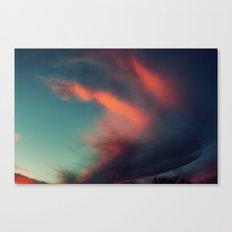 Excuse Me While I Kiss the Sky Canvas Print