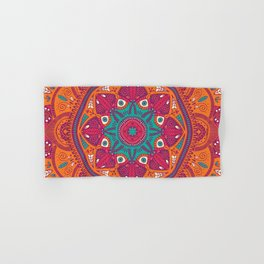 Colorful Mandala Pattern 017 Hand & Bath Towel