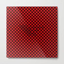 Polka / Dots - Quote Art Metal Print