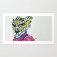 Ruffled Feathers Art Print