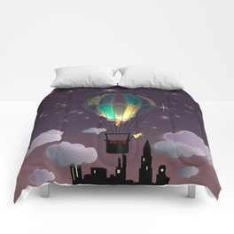 Balloon Aeronautics Night Comforters